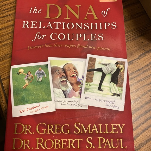 """Other - NWOT Book""""DNA of Relationships for Couples"""""""